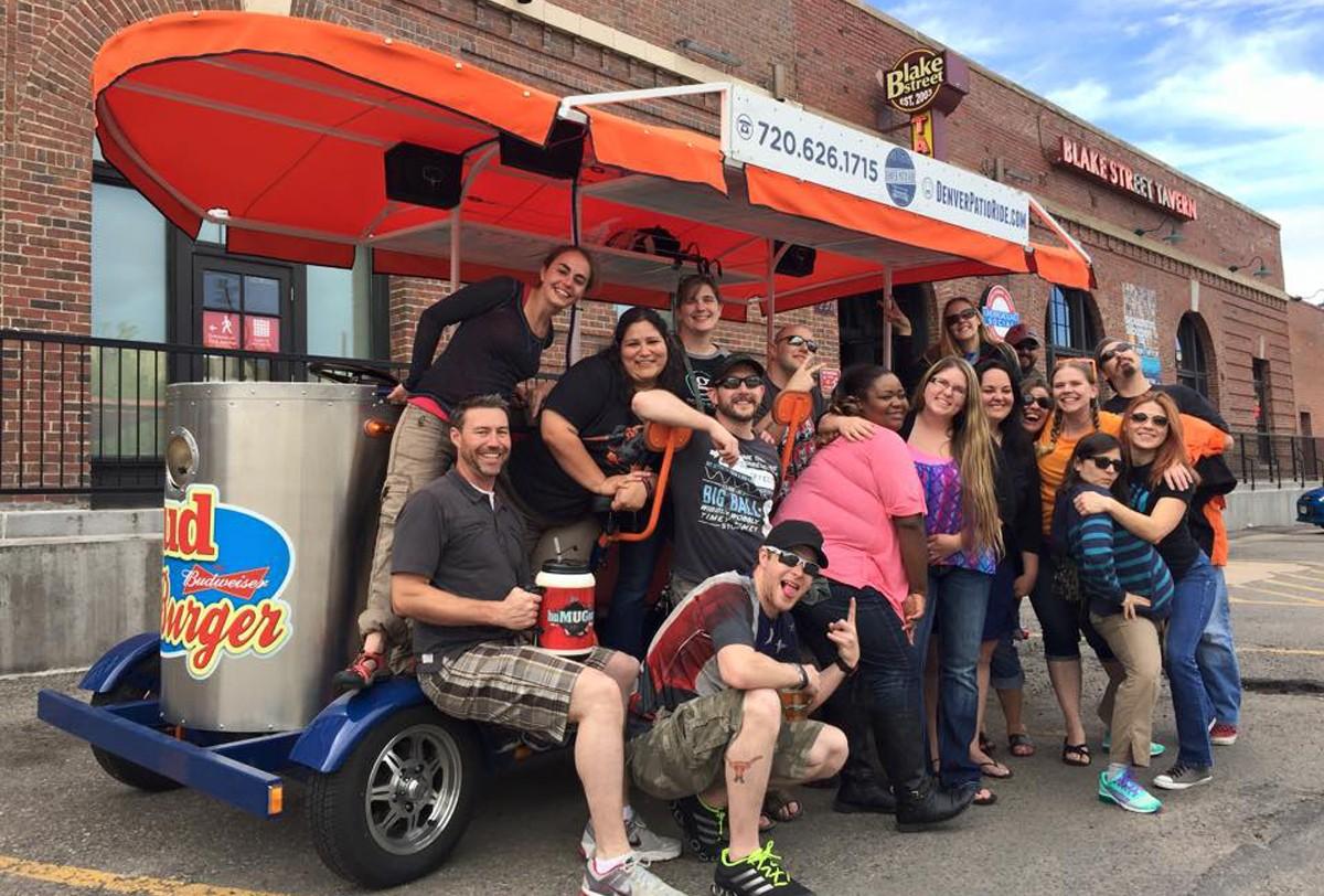 Home Bike Bar Tours Denver